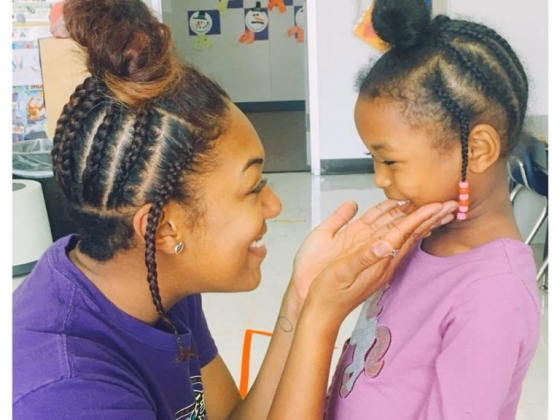 Texas Teacher Wears Same Hairstyle As Student Who Didn't Believe She Really Liked Her Hair