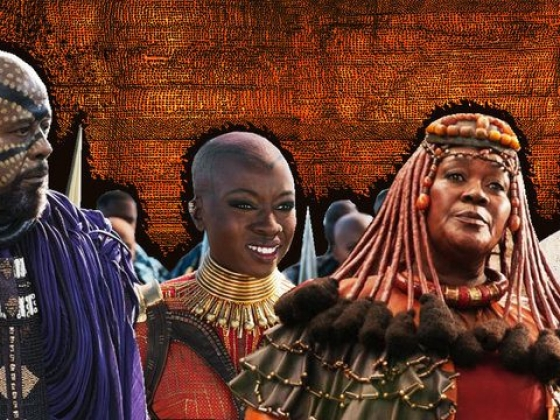 From Zamunda To Wakanda: How 'Black Panther' Reimagined African Style