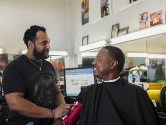 Black Men Can Now Get A Haircut And Health Care All In One Stop