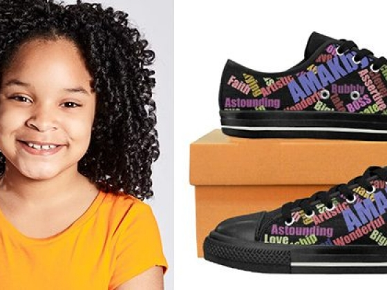 "10-Year Old Entrepreneur ""Bosses on Em"" With Her New Footwear Company"